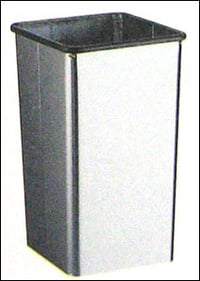 Floor Stand Open Top Waste Receptacle