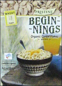 Organic Cereal Wheat Flakes