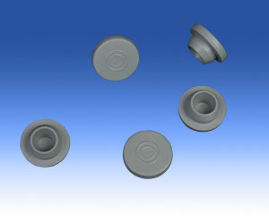 Rubber Stopper For Injection Vials