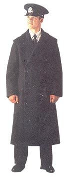 Wool Double Breasted Overcoat