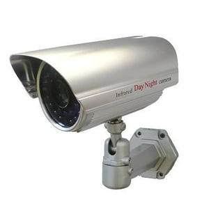 """Color Bullet Night Vision Camera 420 Lines 1/3"""" sony CCD 30 Led Infrared"""