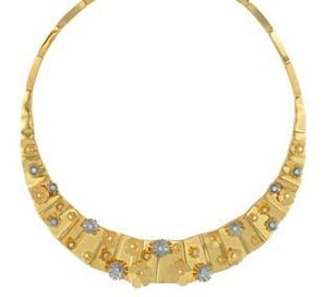 Womens Gold Necklace