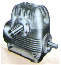 Power Transmission Horizontal Worm Gear Boxes