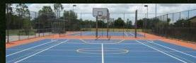 Synthetic Sports Surfaces For Multisport