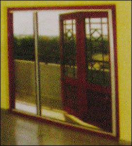 Horizontal Retractable Single Door Insect Screen