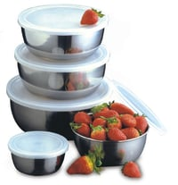 Storage Bowl With Air Tight Plastic Lid