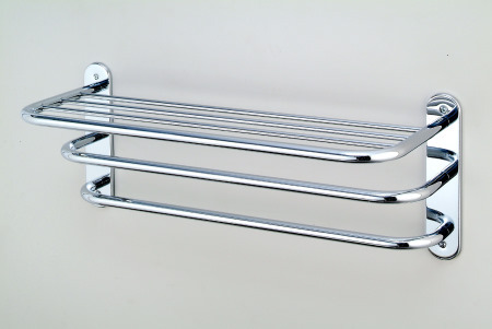 Towel Shelf With Two Bars