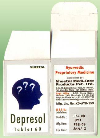 Depresol Tablets