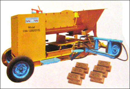 Cna 1200/07 El Country Clay Brick Moulding Machine