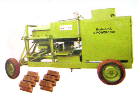 Cna E-Power / 1500 Country Clay Brick Moulding Machine