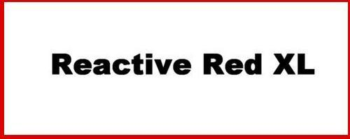 Reactive Red Xl