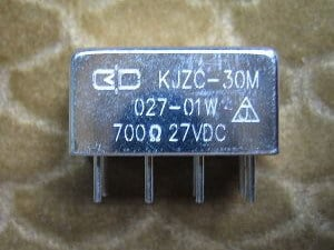 SEALED DC ELECTROMAGNETIC RELAY