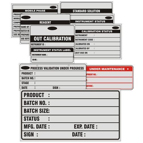 Re-Writable Information Labels