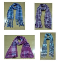 Cotton Yarn Dyed Scarves