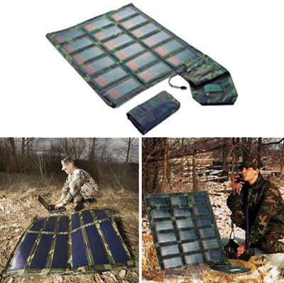 Portable Flexible Solar Charger