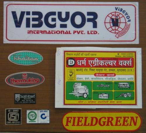 PAPER STICKER/UV FARED/FOIL STICKERS in  Anand Parbat Indl. Area