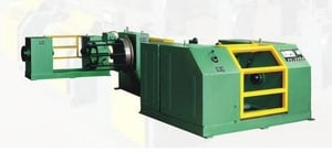 Wire Copper Coating Pay-Off & Take-Up Machine