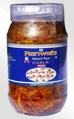 Natural Garlic Pickle