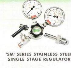 'Sm' Series Stainless Steel Single Stage Regulator