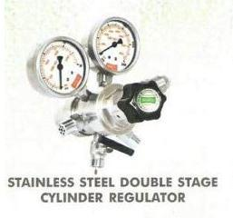 Stainless Steel Double Stage Cylinder Regulator