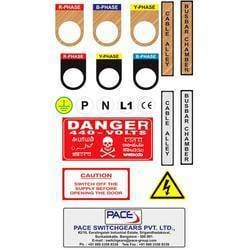 Electrical Panel Board Stickers