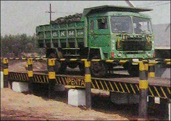 Weigh Bridge Electronic