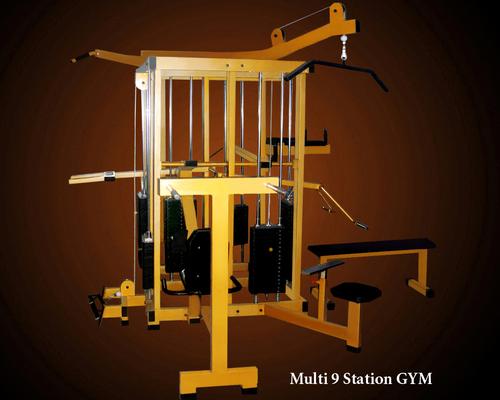 Multi 9 Station Gym Fitness Machine
