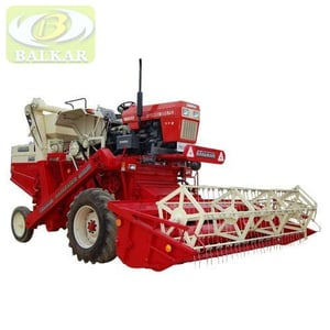 Tractor Mounted Combined Harvester