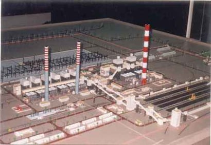 Thermal Power Station Plant Layout