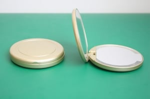 Compact Lighted Mirror