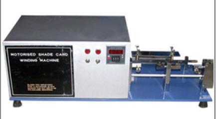 Digital Shade Card Winding Machines