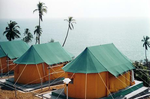 Swiss Cottage Beach Resort Tent