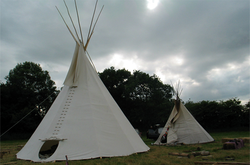 Traditional Tipi Tents
