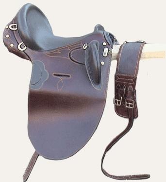 Quebrecho Leather Stock Saddles