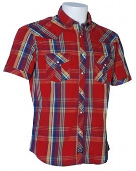 Yarn Dyed Checks Red Shirts