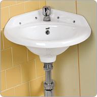Small Corner Wash Basins