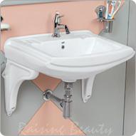 Wash Basins With Cramic Bracket