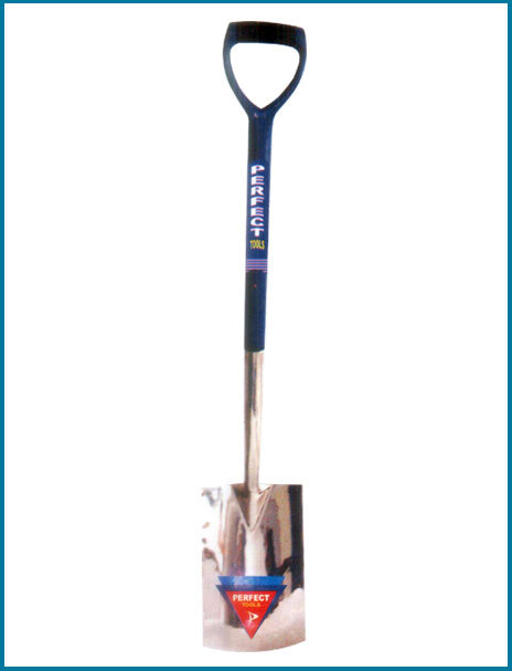 Digging Spade Stainless Steel With Plastic Shaft