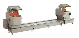 Double Head Mitre Saw For Aluminum Window Cutting
