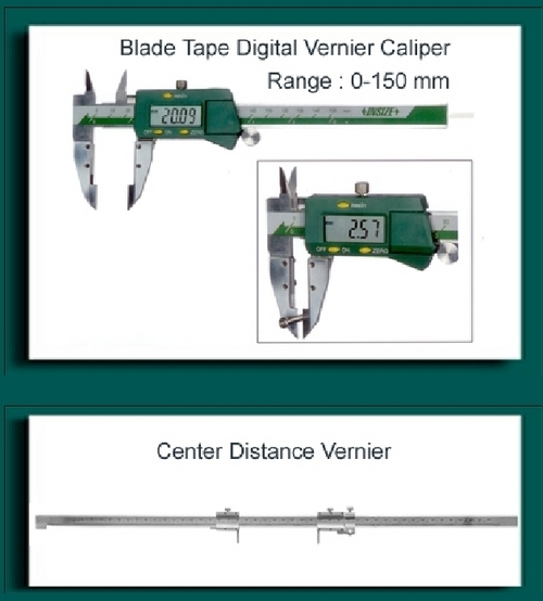 Blade Type Vernier