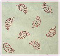 Leaves Design Handmade Paper