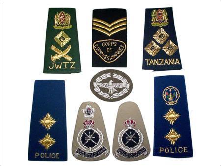 Shoulder Rank Badges