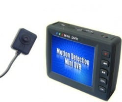 SPY BUTTON CAMERA WITH DISPLAY UNIT