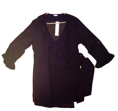 Frilled Wrap Ladies Tops