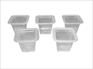 PP Plastic Jelly Cup