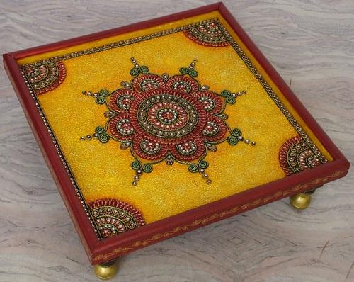 Papier Mache And Kundan Handicraft - Chowki at Best Price in Jaipur,  Rajasthan | Zest Overseas