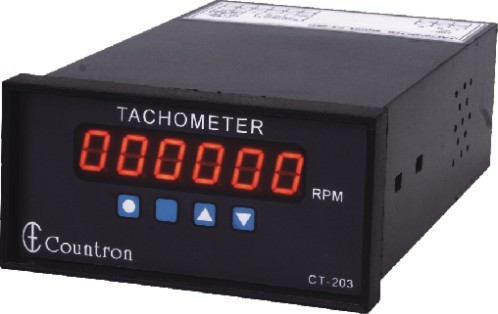 Digital Tachometer With Adjustable Multiplier