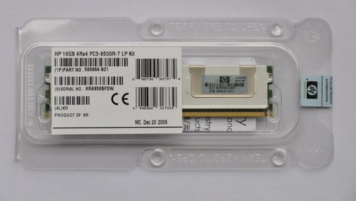 2x2GB HP 408853-B21 4GB 667MHz 240Pin PC2-5300 DDR2 SDRAM Memory Kit