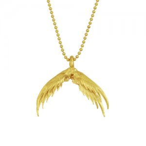Four-Feather Necklace
