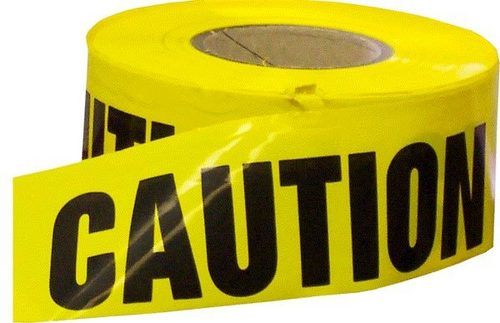 Caution Barrier Tapes